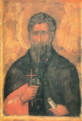 Святой преподобный Иоанн Рыльский